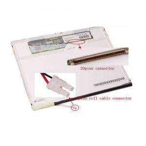 מסך למחשב נייד Apple PowerBook G4 Aluminum A1010 Laptop LCD Screen 12.1 XGA Matte (CCFL backlight)