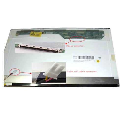 מסך למחשב נייד Buy IBM ThinkPad R61 7732-14U Laptop LCD Screen 14.1 WXGA(1280x800) Glossy -57641